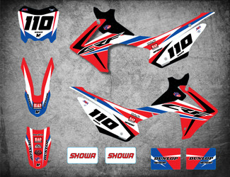 Honda CRF 110 SLEEK style full kit