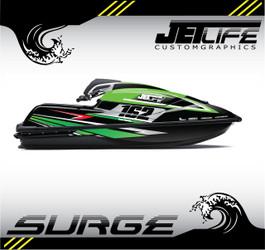 Kawasaki Jet Ski SURGE STYLE full kit