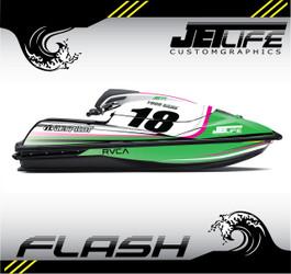 Kawasaki Jet Ski FLASH STYLE full kit