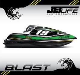 Kawasaki Jet Ski BLAST STYLE full kit