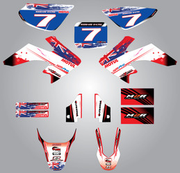 CRF 50 Aussie Pride full kit