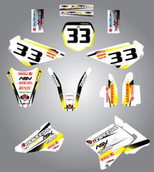 RM 85 Storm style full kit