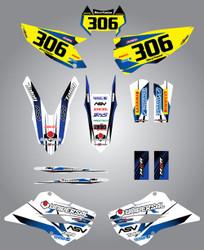 Husaberg 125cc + Storm Style Full Kit