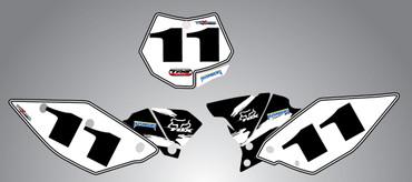 Husaberg 125cc + Safari Style Number Plates