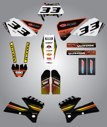 Husaberg 125cc + Factory Style Full Kit