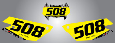 Husaberg 125cc + Factroy Style Number Plates