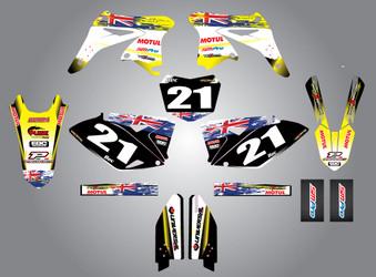 Suzuki 125cc + Aussie Pride Style Full Kit