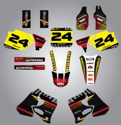 Honda 125cc + Factory Style full kit