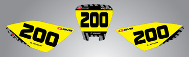 Honda CRF 70/80/100 Number plates Factory style