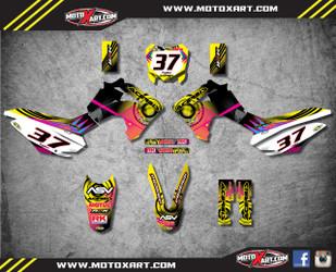 Honda 125cc + Neon Style full kit