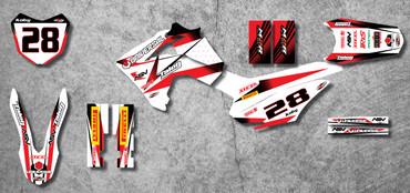 Honda 125cc + Storm Style full kit