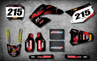 Honda 125cc + Barbed Style full kit