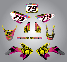 CRF 50 Neon style full kit