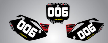 CRF 150 Factory style number plates