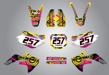 CRF 150 Neon style full kit