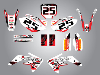 CRF 150 Storm style full kit