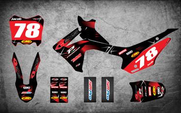 Honda CRF 110 Barbed style full kit