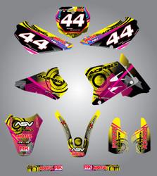 RM 85  Neon style full kit
