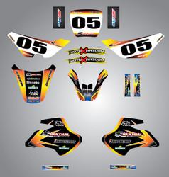 Suzuki 50cc Sunrise style full kit