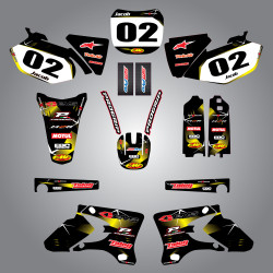 JR 80 / DRZ 70  Barbed Style Full Kit