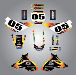 JR 80 / DRZ 70  Sunrise Style Full Kit