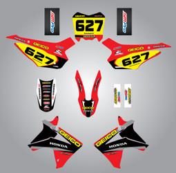 Honda CRF 110 Sonic style full kit