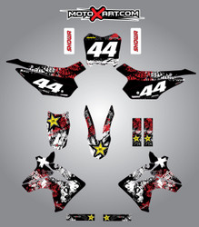 Honda CRF 110 Graffiti style full kit