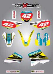 RM 85  Strike style full kit