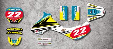 JR 80 / DRZ 70  Strike Style Full Kit