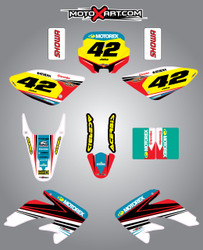 CRF 70/80/100 Full Graphics Kit Strike Style