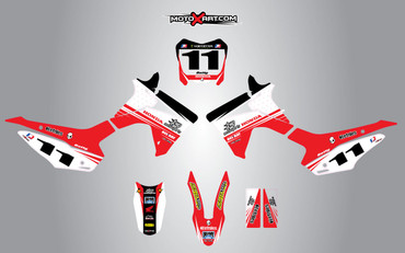 Honda CRF 110 Two Two style full kit