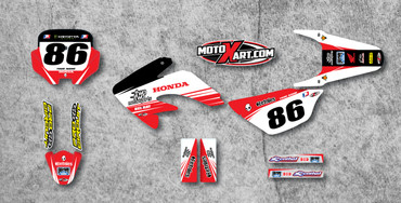 CRF 70/80/100 Full Graphics Kit TWO TWO Style