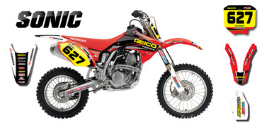 CRF 150 Sonic style full kit