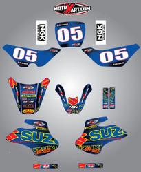 Suzuki 50cc Mashed style full kit