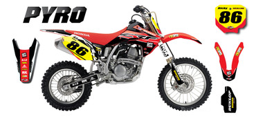 CRF 150 PYRO style full kit