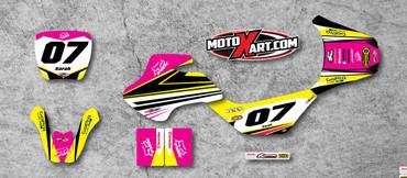 Suzuki 50cc Strike Girls style full kit