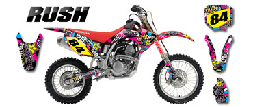 CRF 150 RUSH style full kit