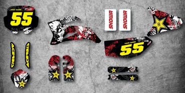 Pitster Pro LXR 09 Graffiti Style kit