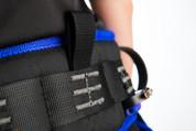 Premium Twisting Belt (Large/Blue)