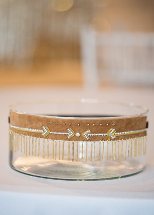 Pave Arrow Suede Headband CLEARANCE