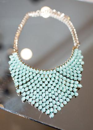 Drizzle Droplets Necklace Mint