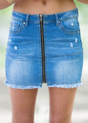 My Anthem Jean Skirt CLEARANCE