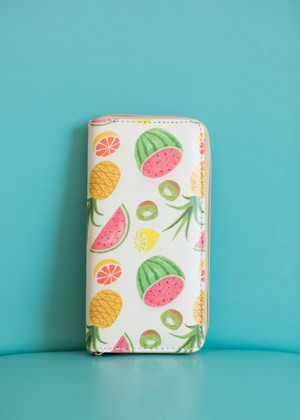 In the Palm of Your Plans Ivory Fruit Wallet CLEARANCE