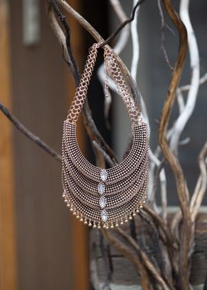 A Quadratic Affair Necklace Bronze CLEARANCE