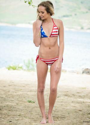 American Pride Bikini BOTTOMS CLEARANCE