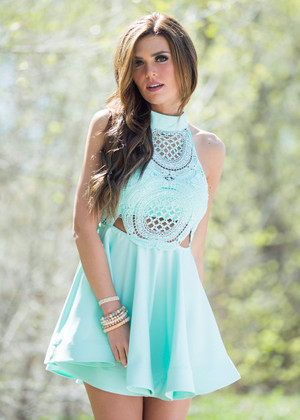 A Day to Be Alive Dress Mint