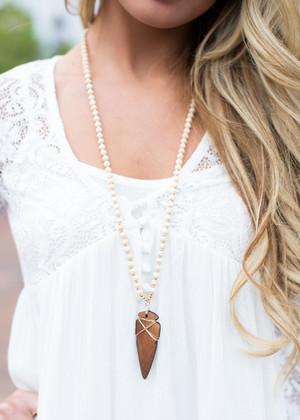 Arrowhead Design Necklace