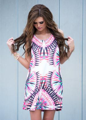It's All an Illusion Tank Dress