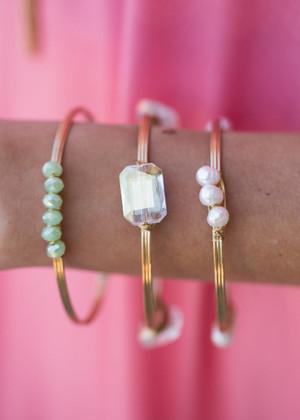 Assorted Stone Bracelet Set