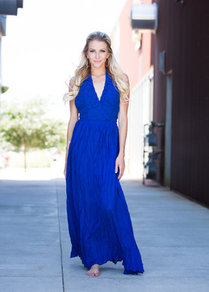 Everybody Stares Maxi Royal Blue CLEARANCE